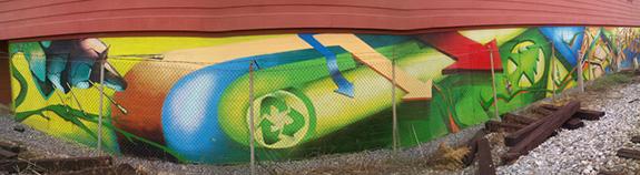 MuralsDC & WBL | 2009 | Takoma Green