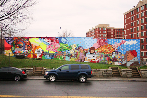 MuralsDC | 2009 | Sherman Ave. & Barry
